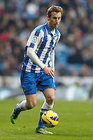 06.01.2013 SPAIN -  La Liga 12/13 Matchday 18th  match played between Real Madrid CF vs  Real Sociedad (4-3) at Santiago Bernabeu stadium. The picture show Mikel Aranburu Eizaguirre (Midfielder of Real Sociedad)