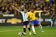 Melbourne - Argentina v Brazil 9th June 2017
