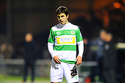 Yeovil Town's Liam Walsh during the The FA Cup Third Round Replay match between Yeovil Town and Carlisle United at Huish Park, Yeovil, England on 19 January 2016. Photo by Graham Hunt.