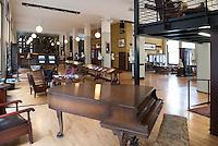 Mercantile Library Interior