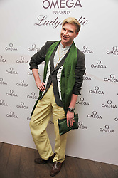 HENRY CONWAY at a pool party to celebrate the UK launch of the Omega Ladymatic Collection held at the Haymarket Hotel, Haymarket, London on 16th June 2011.