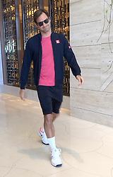 AU_1444775 - Perth, AUSTRALIA  -  *EXCLUSIVE*  - Roger Federer seen leaving hotel in Perth, Western Australia<br /> <br /> Pictured: Roger Federer<br /> <br /> BACKGRID Australia 30 DECEMBER 2018 <br /> <br /> Phone: + 61 2 8719 0598<br /> Email:  photos@backgrid.com.au