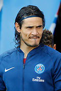EDINSON ROBERTO PAULO CAVANI GOMEZ (EL MATADOR) (EL BOTIJA) (FLORESTAN) (PSG) during the French championship L1 football match between Paris Saint-Germain (PSG) and SCO Angers, on August 25th, 2018 at Parc des Princes Stadium in Paris, France - Photo Stephane Allaman / ProSportsImages / DPPI