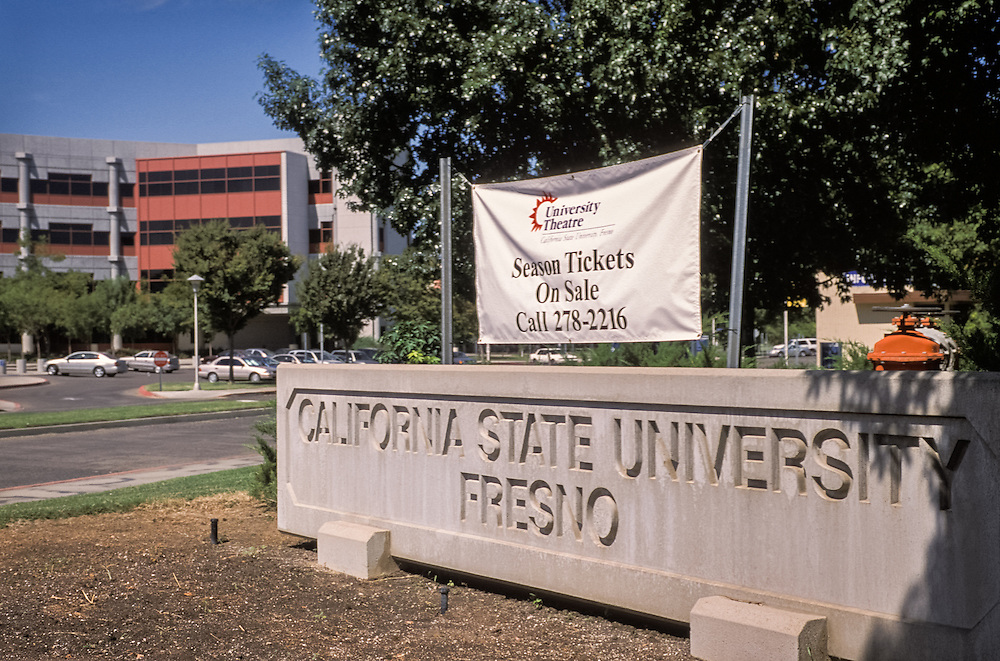 CENTRAL VALLEY, CALIFORNIA - Fresno State campus