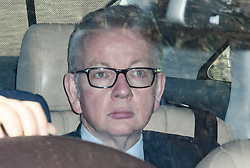 © Licensed to London News Pictures. 29/03/2019. London, UK. MICHAEL GOVE MP is seen leaving Parliament after MPs rejected Theresa May's withdrawal agreement. Photo credit: Ben Cawthra/LNP