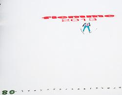 02.03.2013, Skisprungstadion, Predazzo, ITA, FIS Weltmeisterschaften Ski Nordisch, Nordische Kombination, Skisprung Großschanze Team, Wertungsdurchgang, im Bild during the Mens Nordic Combined Team Large Hill Skijump Competition of the FIS Nordic Ski World Championships 2013 at the Skijumping Stadium, Predazzo, Italy on 2013/03/02. EXPA Pictures © 2013, PhotoCredit: EXPA/ Juergen Feichter