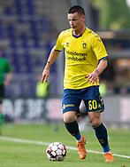 FODBOLD: Ante Erceg (Brøndby IF) under kampen i Superligaen mellem Brøndby IF og FC Midtjylland den 20. maj 2019 på Brøndby Stadion. Foto: Claus Birch.
