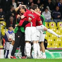 Cristiano Ronaldo 1:0 Torjubel Cristiano Ronaldo<br /> Champions League Finale Manchester United FC - FC Chelsea <br /> <br /> Norway only