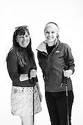 C.A.M.O. ski instructor, Karen, and Army Brat, Caliana Barini.<br /> <br /> Challenge Aspen C.A.M.O. Event<br /> Veterans Portrait Project<br /> Snow Mass, Colorado