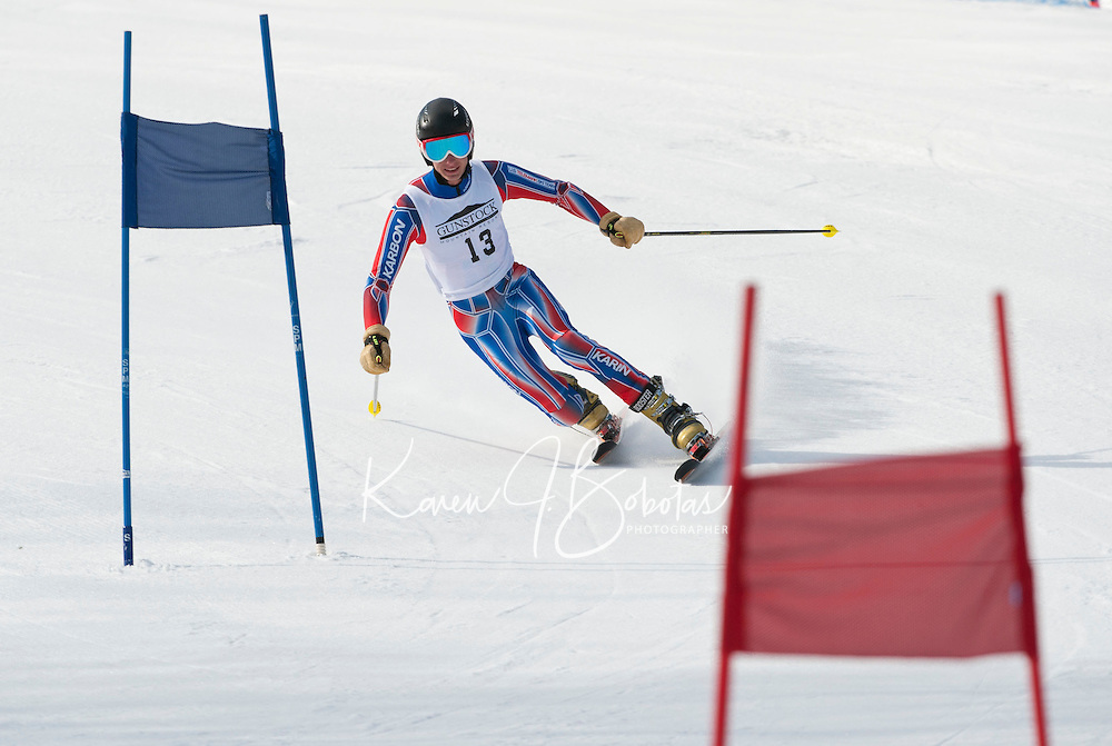 US Telemark Championships giant slalom at Gunstock March 9, 2012.