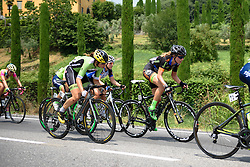 Sheyla Gutierrez (Cylance Pro Cycling) at Giro Rosa 2016 - Stage 4. A 98.6 km road race from Costa Volpino to Lovere, Italy on July 5th 2016.