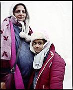 Samar, 37 anni. Incinta, 5 mesi. Una figlia, Sali (6 anni). Iraq. One Stop Centre Presevo, Serbia.