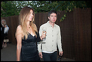 NOEL GALLAGHER, 2014 Serpentine's summer party sponsored by Brioni.with a pavilion designed this year by Chilean architect Smiljan Radic  Kensington Gdns. London. 1July 2014