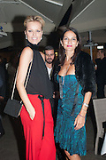 EVA HERZIGOVA; YASMIN MILLS, Dinner to celebrate the opening of the first Berluti lifestyle store hosted by Antoine Arnault and Marigay Mckee. Harrods. London. 5 September 2012.