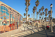 Huntington Beach Pier Plaza in Orange County California