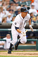 May 31, 2010: Detroit Tigers' Brandon Inge (15) during the MLB baseball game between the Oakland Athletics and Detroit Tigers at  Comerica Park in Detroit, Michigan. Oakland defeated Detroit 4-1.