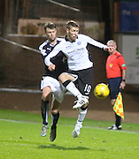 St Johnstone&rsquo;s David Wotherspoon and Dundee&rsquo;s Rory Loy - Dundee v St Johnstone, Ladbrokes Premiership at Dens Park<br /> <br />  - &copy; David Young - www.davidyoungphoto.co.uk - email: davidyoungphoto@gmail.com