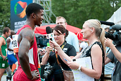 Behind the scenes, BROWNE Richard, USA, 100m, T44, 2013 IPC Athletics World Championships, Lyon, France