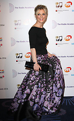 EMILIA FOX arrives for the Radio Academy Awards, London, United Kingdom. Monday, 12th May 2014. Picture by i-Images