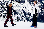 King Willem-Alexander, Queen Maxima, Princess Amalia, Princess Alexia, Princess Ariane, Princess Beatrix, Prince Constantijn, Princess Laurentien, Countess Eloise, Count Claus-Casimir and Countess Leonore during the annual photo session during their wintersport holidays in Lech am Arlberg, Austria, 25 February 2020. Photo: robin utrecht