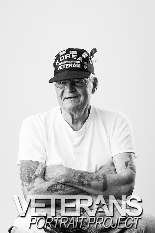 Ted Quick<br /> Marine Corps<br /> BM3<br /> Swimmer<br /> 1950 - 1954<br /> Korean War<br /> <br /> Veterans Portrait Project<br /> Springfield, MA