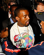 20.AUGUST.2007. LONDON<br /> <br /> KANYE WEST LEAVING HIS HOTEL AT 1.00AM TO HEAD TO MAHIKI CLUB, MAYFAIR.HE THEN LEFT AT 3.00AM VERY DRUNK AND 5 MINUTES LATER RIHANNA  LEFT MAHIKI AND THEN THEY BOTH WENT ONTO STRINGFELLOWS TOGETHER BEFORE BOTH LEAVING SEPERATLEY AT 4.30 AM. RIHANNA HAS A FOOT CAST ON HER FOOT SHE MUST HAVE HAD A BROKEN FOOT OR ANKLE RECENTLEY.<br /> <br /> BYLINE: EDBIMAGEARCHIVE.CO.UK<br /> <br /> *THIS IMAGE IS STRICTLY FOR UK NEWSPAPERS AND MAGAZINES ONLY*<br /> *FOR WORLD WIDE SALES AND WEB USE PLEASE CONTACT EDBIMAGEARCHIVE - 0208 954 5968*