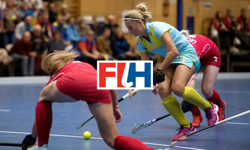 BERLIN - Indoor Hockey World Cup<br /> Women: Ukraine - Czech Republic<br /> foto: KHILKO Maryna.<br /> WORLDSPORTPICS COPYRIGHT FRANK UIJLENBROEK