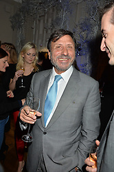 LONDON, ENGLAND 1 DECEMBER 2016: Sir Rocco Forte at the Smythson & Brown's Hotel Christmas Party held at Brown's Hotel, Albemarle St, Mayfair, London, England. 1 December 2016.