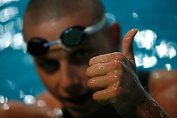 Winner  Emil Tahirovic at International Swimming Championship of Kranj 2007, on June 10, 2007, in Kranj, Slovenia. (Photo by Vid Ponikvar / Sportal Images)..