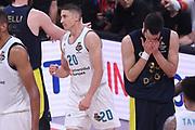 Jayce Carroll, Nikola Kalinic<br /> Fenerbahce Dogus Istanbul - Real Madrid<br /> Euroleague Final Four 2018 - Final 1 - 2 Place<br /> Euroleague 2017/2018<br /> Belgrade, 20/05/2018<br /> Foto M.Ceretti / Ciamillo-Castoria