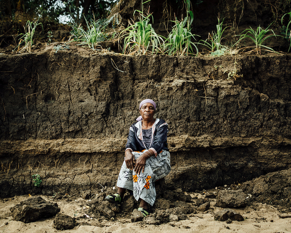 "Faida Asima, 58, Malawi. ""I lost my crops."" 