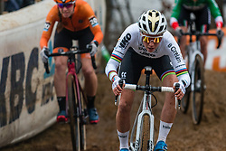 CANT Sanne (BEL) during Women Elite race, 2019 UCI Cyclo-cross World Cup Heusden-Zolder, Belgium, 26 December 2019.<br /> <br /> Photo by Pim Nijland / PelotonPhotos.com <br /> <br /> All photos usage must carry mandatory copyright credit (Peloton Photos | Pim Nijland)