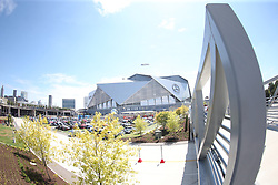 Mercedes-Benz Stadium prior to the Chick-fil-A Kickoff Game at the Mercedes-Benz Stadium, Saturday, August 31, 2019, in Atlanta. Alabama won 42-3. (Chris Eason via Abell Images for Chick-fil-A Kickoff)