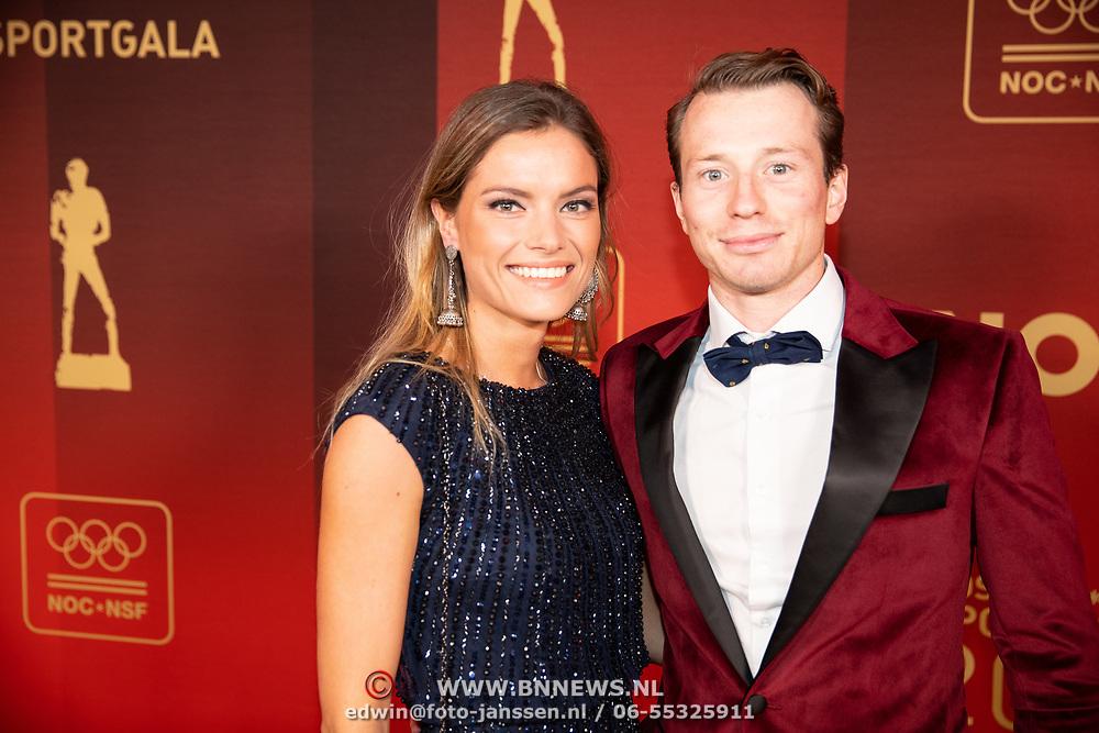 NLD/Amsterdam/20181219 - NOC*NSF Sportgala 2018, Seve van Ass en ........