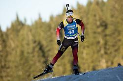 Erlend Bjoentegaard (NOR) in action during the Men 10km Sprint at day 6 of IBU Biathlon World Cup 2018/19 Pokljuka, on December 7, 2018 in Rudno polje, Pokljuka, Pokljuka, Slovenia. Photo by Vid Ponikvar / Sportida