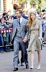 July 8, 2017 - Hanover, GERMANY - 08-07-2017 Wedding of Prince Ernst August of Hanover and Ekaterina 'Katya' Malysheva at the Marktkirche (church) in Hanover, Germany. Pierre Casiraghi and Beatrice Borromeo .© PPE/Nieboer.Credit: PPE/face to face.- No Rights for Netherlands  (Credit Image: © face to face via ZUMA Press)