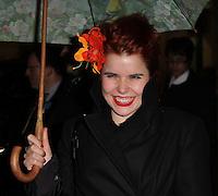 Paloma Faith The Nutcracker Gala Performance Reception Arrivals, St Martin's Lane Hotel, London, UK, 15 December 2010:  Contact: Ian@Piqtured.com +44(0)791 626 2580 (Picture by Richard Goldschmidt)