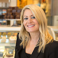 I've always wanted to do a flour covered chef headshot but that will have to wait for another day.   At this photo-shoot we were after a professional looking head shot for this amazing baker and business owner.  The black jacket definitely give a professional air, but we thought it was important to have a bakery backdrop and a welcoming smile. Boulder