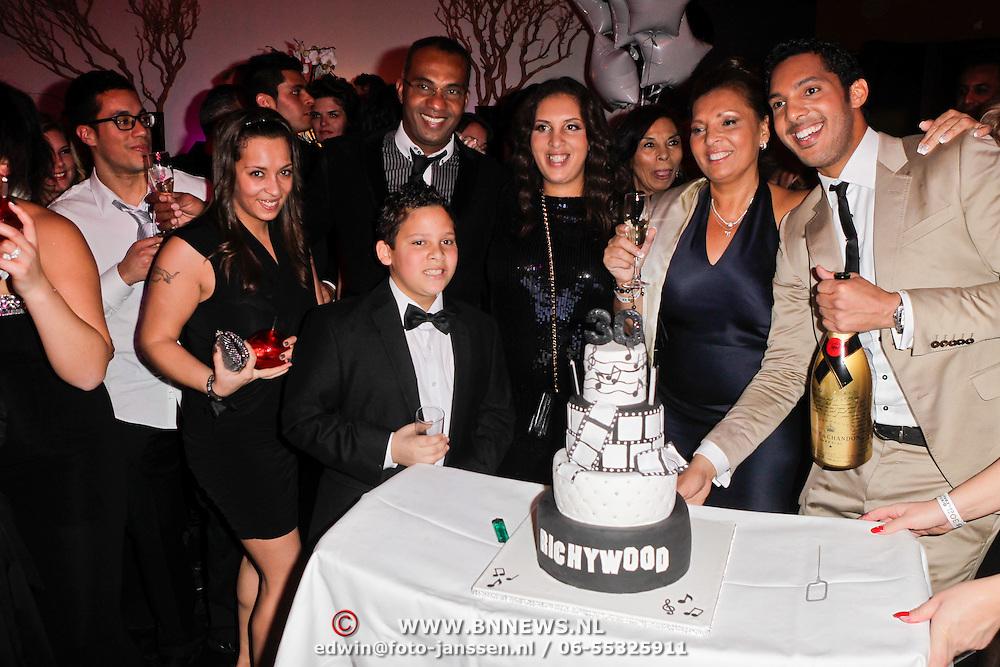 NLD/Amsterdam/20120204 - 30ste Verjaardag Richy Brown, Richy