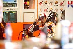 02.05.2014, Circuito de Jerez, Jerez de la Frontera, ESP, MotoGP, Grosser Preis von Spanien, Testfahrten, im Bild Marc Marquez // Marc Marquez during a test ride of Moto GP Grand Prix of Spain at the Circuito de Jerez in Jerez de la Frontera, Spain on 2014/05/02. EXPA Pictures © 2014, PhotoCredit: EXPA/ Newspix/ DyD Fotografos<br /> <br /> *****ATTENTION - for AUT, SLO, CRO, SRB, BIH, MAZ, TUR, SUI, SWE only*****