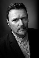 A thought provoking Black and White portrait featuring Ian Puleston-Davies
