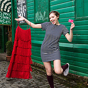 FREE PICTURES : Olivia Ross on a shopping trip using her Visit West End Gift Card. Buying a dress from Starry Starry Night on Downside Lane. Picture Robert Perry 8th March 2017<br /> <br /> Please credit photo to Robert Perry<br /> <br /> Image is free to use in connection with the promotion of the above company or organisation. 'Permissions for ALL other uses need to be sought and payment make be required.<br /> <br /> <br /> Note to Editors:  This image is free to be used editorially in the promotion of the above company or organisation.  Without prejudice ALL other licences without prior consent will be deemed a breach of copyright under the 1988. Copyright Design and Patents Act  and will be subject to payment or legal action, where appropriate.<br /> www.robertperry.co.uk<br /> NB -This image is not to be distributed without the prior consent of the copyright holder.<br /> in using this image you agree to abide by terms and conditions as stated in this caption.<br /> All monies payable to Robert Perry<br /> <br /> (PLEASE DO NOT REMOVE THIS CAPTION)<br /> This image is intended for Editorial use (e.g. news). Any commercial or promotional use requires additional clearance. <br /> Copyright 2016 All rights protected.<br /> first use only<br /> contact details<br /> Robert Perry     <br /> 07702 631 477<br /> robertperryphotos@gmail.com<br />        <br /> Robert Perry reserves the right to pursue unauthorised use of this image . If you violate my intellectual property you may be liable for  damages, loss of income, and profits you derive from the use of this image.