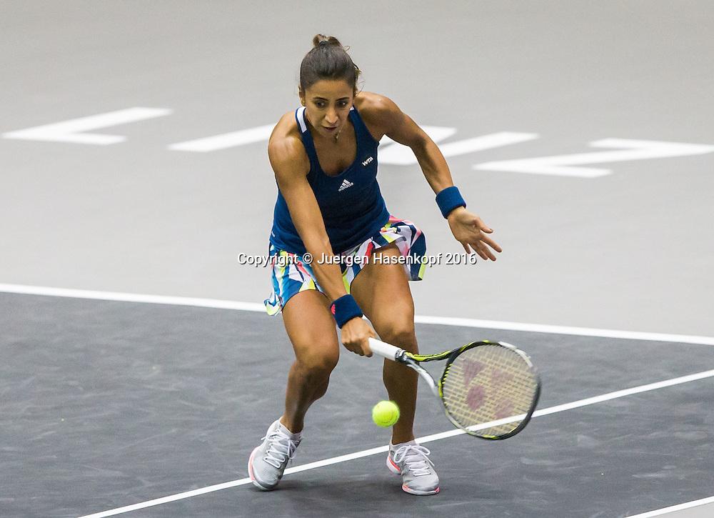 CAGLA BUYUKAKCAY (TUR)<br /> <br /> Tennis - Ladies Linz 2016 - WTA -  TipsArena  - Linz - Oberoesterreich - Oesterreich - 12 October 2016. <br /> &copy; Juergen Hasenkopf