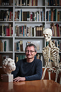 Frankfurt am Main | 07 March 2017<br /> <br /> Dr. Ottmar Kullmer, Senckenberg Museum, at his workplace.<br /> <br /> photo &copy; peter-juelich.com