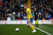 Leeds United forward Jack Clarke (47)  during the EFL Sky Bet Championship match between Birmingham City and Leeds United at St Andrews, Birmingham, England on 6 April 2019.