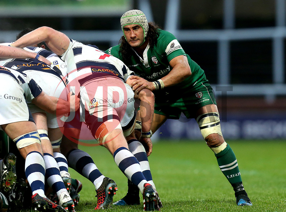 Blair Cowan of London Irish - Mandatory by-line: Robbie Stephenson/JMP - 17/05/2017 - RUGBY - Headingley Carnegie Stadium - Leeds, England - Yorkshire Carnegie v London Irish - Greene King IPA Championship Final 1st Leg