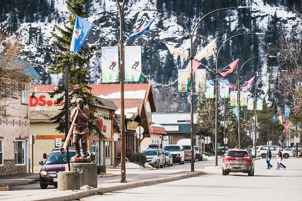 Main Street, Smithers, BC.