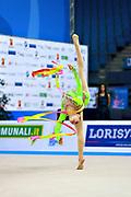 Ana Luiza Filiorianu was born in July 10, 1999 in Bucharest. She is a very good Romanian individual rhythmic gymnast.