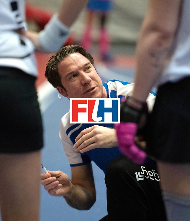 BERLIN - Indoor Hockey World Cup<br /> Switzerland - Poland<br /> foto: KLOTER Michael<br /> WORLDSPORTPICS COPYRIGHT FRANK UIJLENBROEK