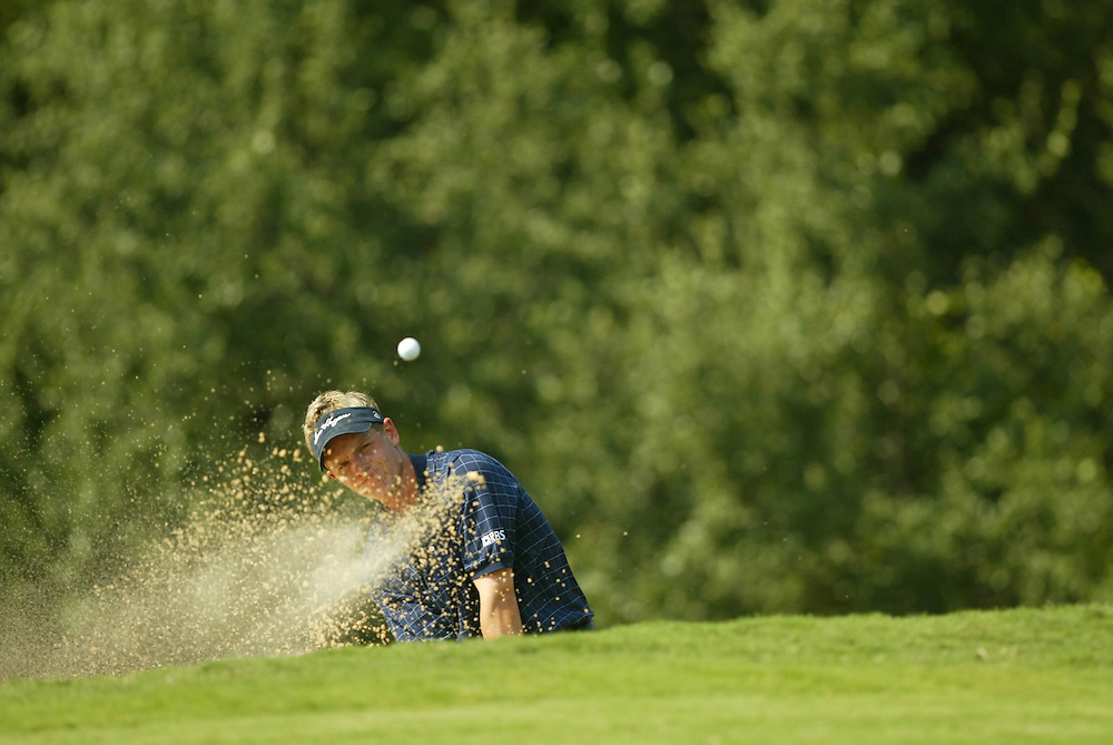 Luke Donald..2003 Valero Texas Open..Westin La Cantera Resort..San Antonio, TX..Saturday, September 27 2003..photograph by Darren Carroll